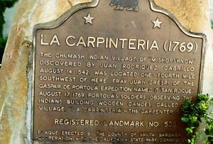 La Carpinteria Plaque